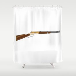 Rifle Shower Curtain