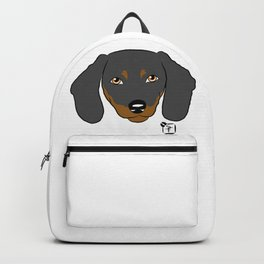Dachshund Face Backpack