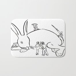 Kuo Shu Rabbit Bath Mat