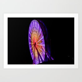 The Wheel. Art Print