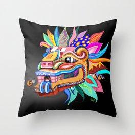 Quetzalcoatl, Creator Throw Pillow