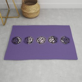 Phases of the D20 Rug