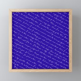 Take My Memories! Framed Mini Art Print