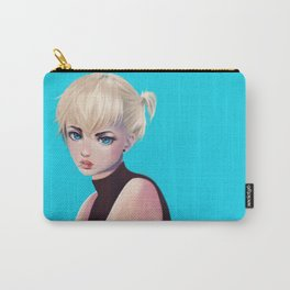 Blue Armin Carry-All Pouch