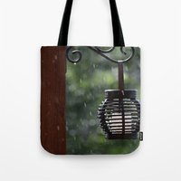 lantern Tote Bags featuring Lantern by Lord Toby
