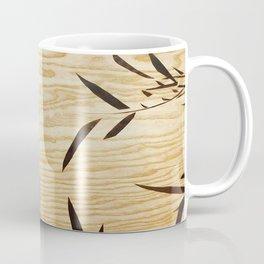 Japanese bamboo buddha wood art Coffee Mug