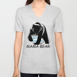 Mama Bear Demiboy Unisex V-Neck