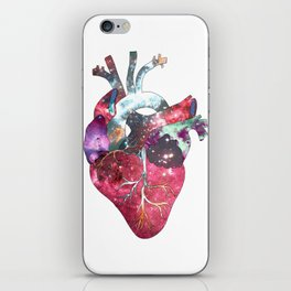 Superstar Heart (on white) iPhone Skin