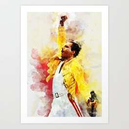 Freddie Art Art Print