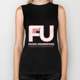 Full FU Logo Biker Tank