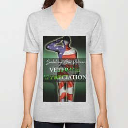 Veterans Appreciation Unisex V-Neck