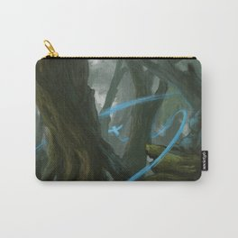 Mystic Owl Forest Carry-All Pouch