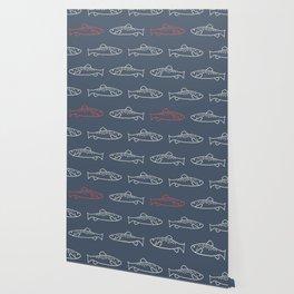 Cheeky Trout Wallpaper