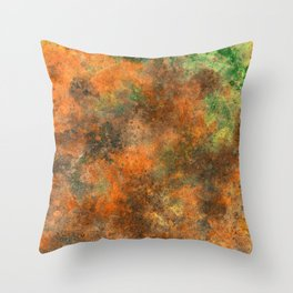 HAND-PAINTED Throw Pillow