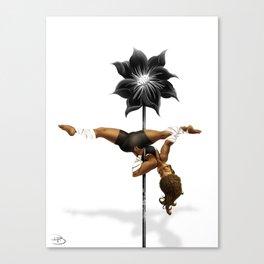 Pennys Shuriken Pole Dance Canvas Print