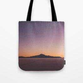 Sunrise over Salar De Uyuni Tote Bag