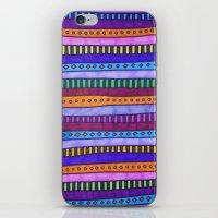 gem iPhone & iPod Skins featuring Gem by Erin Jordan