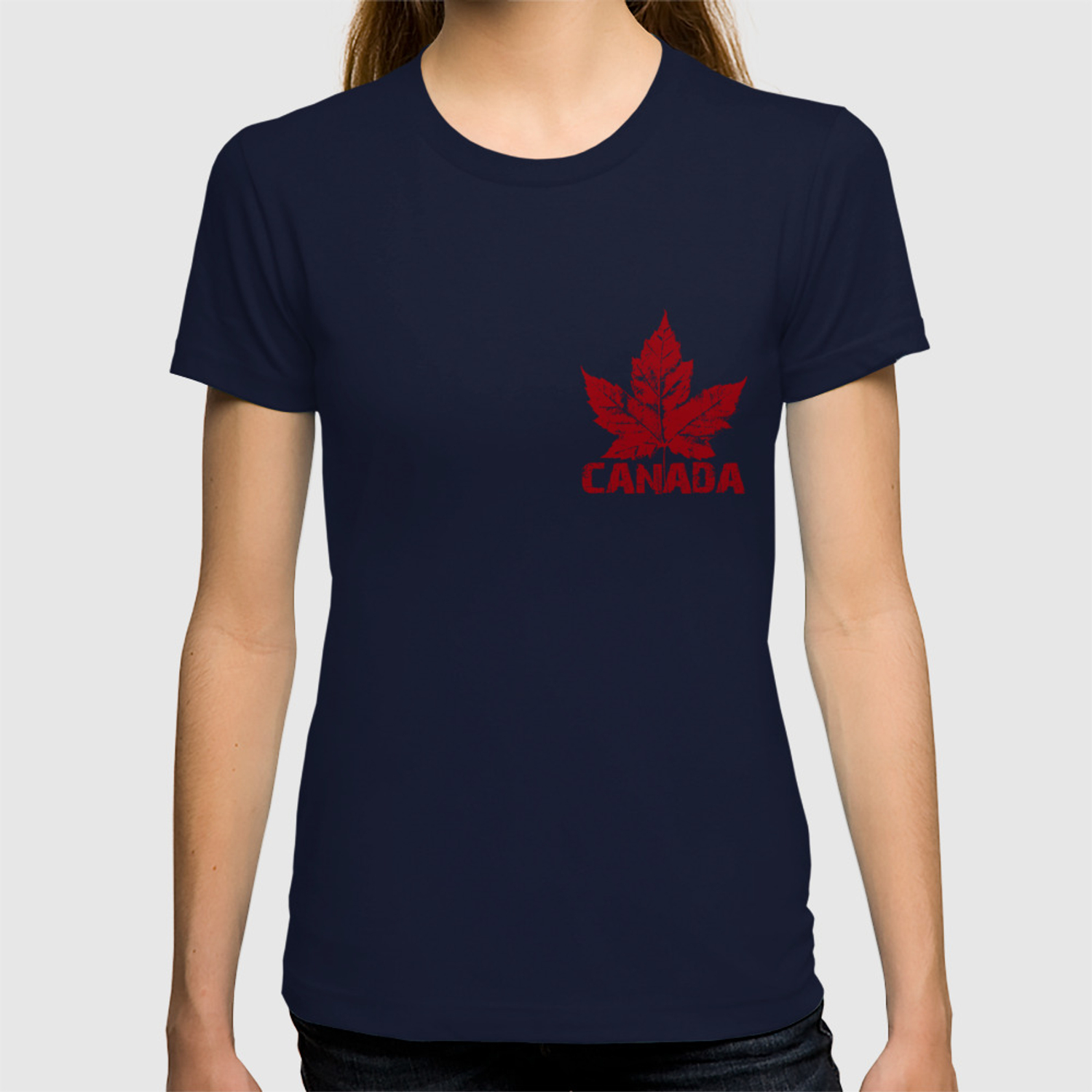 1ee1350a4 Cool Canada Souvenirs T-shirt by artist_kim_hunter   Society6