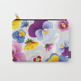 Bloom Floral Carry-All Pouch