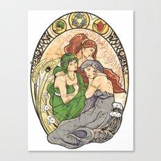 Goddesses of Hyrule Canvas Print