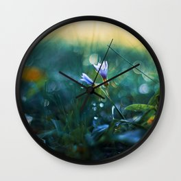 Submerge to a Voyage Wall Clock