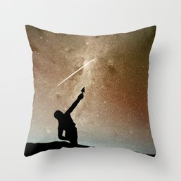 Vulcan Creates the Milky Way Throw Pillow