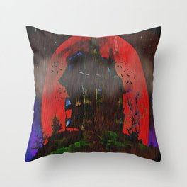 There Was a Crooked House - 055 Throw Pillow