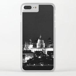 London in dark Clear iPhone Case