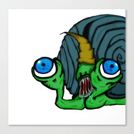 Slimerh! Canvas Print