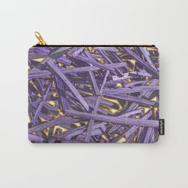 PURPLE KINDLING AND GLOWING EMBERS ABSTRACT Carry-All Pouch
