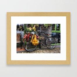 Olde Bike Framed Art Print