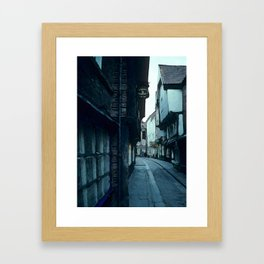 The Shambles Framed Art Print