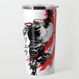 Traditional Fighter Travel Mug