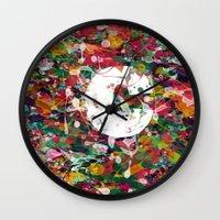 randy c Wall Clocks featuring C.. by barmalisiRTB