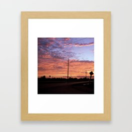 Belleville, Ontario Framed Art Print