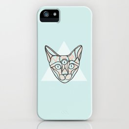 Herman - A Cat Poster iPhone Case