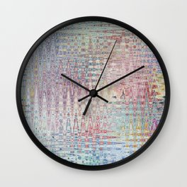 Abstract 137 Wall Clock
