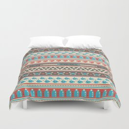 Fair-Hyle Knit Duvet Cover