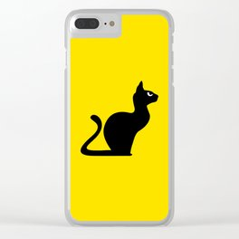 Angry Animals: Cat Clear iPhone Case
