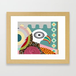 The Wise Eagle Framed Art Print