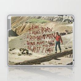 Ramblin' Man Laptop & iPad Skin