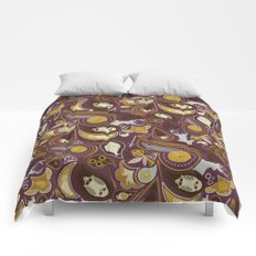 Potter Paisley Comforters