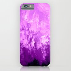 Purple Fluid Art iPhone 6s Slim Case