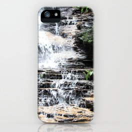 Blue Mountains Waterfall iPhone Case