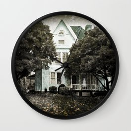 Haunted Hauntings Series - House Number 3 Wall Clock