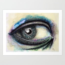 Eye Of Hope Art Print