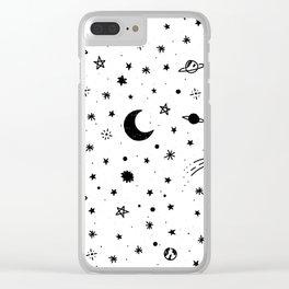 Cosmic Clear iPhone Case