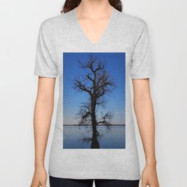 Tree of Tranquility Unisex V-Neck
