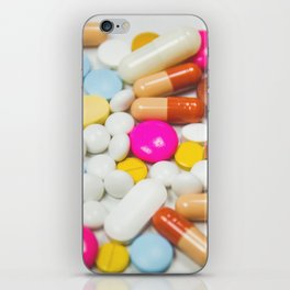 Pills (Color) iPhone Skin