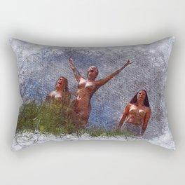 The Sirens Rectangular Pillow